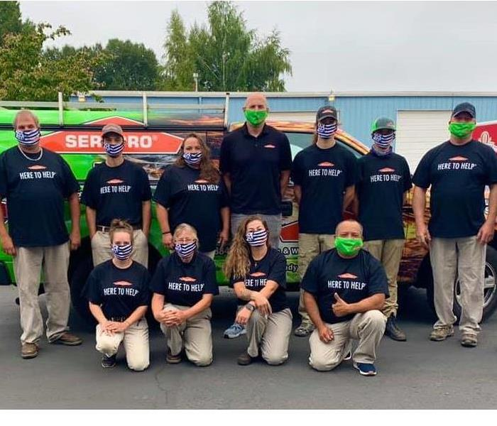 The SERVPRO of Longview/Kelso Team